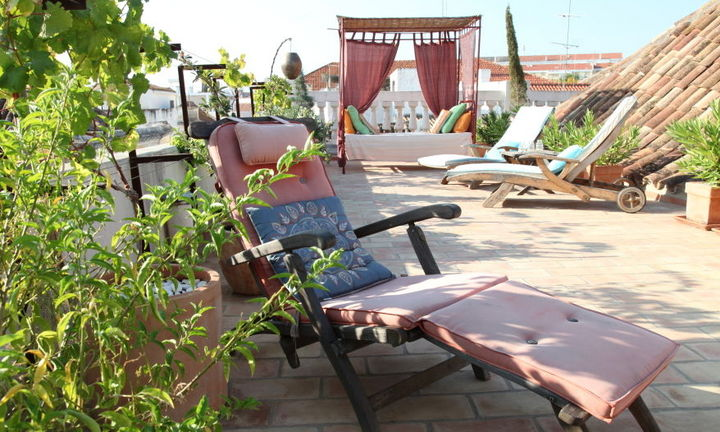 roof terrace, shared area