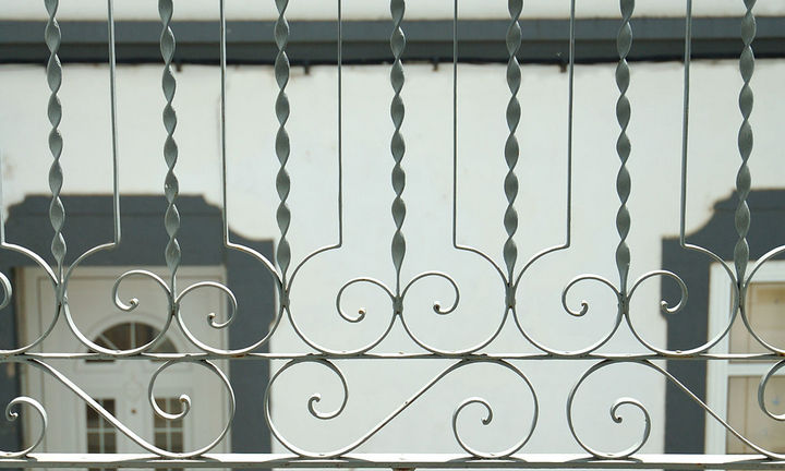bedroom balcony detail