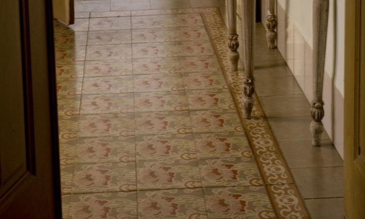 mosaic suite floor detail